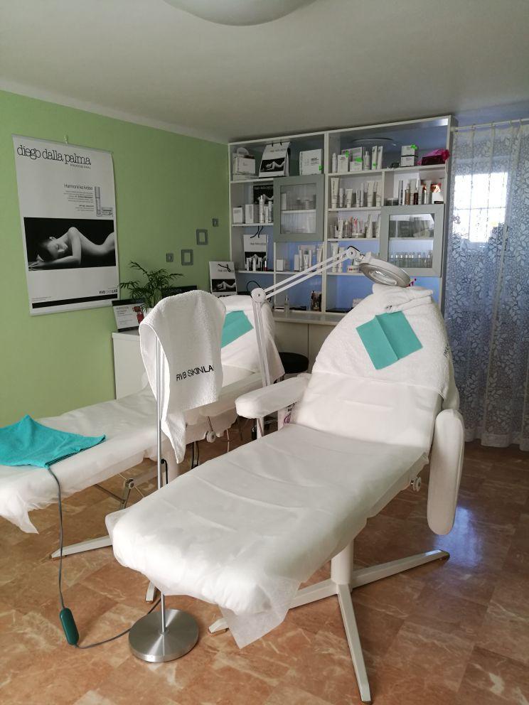 Kosmetické studio interiér